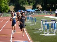 2011 3200m prelim race as Christian Pedro qualifies for finals.